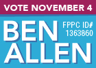 Ben Allen for California Senate 2014