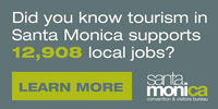 Convention and Visitors Bureau tourism supports local jobs in Santa Monica