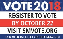 City Register to Vote 2018