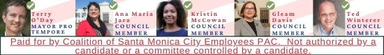 City Employees' Council Endorsements