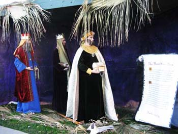 Wise Men from Nativity display