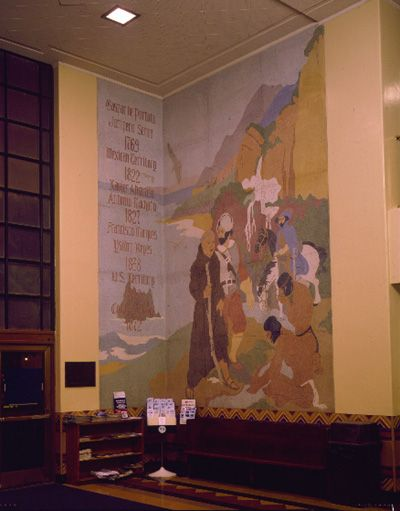 Mural at Santa Monica City Hall