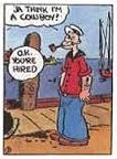 First Popeye comic