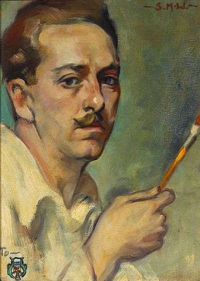 Stanton Macdonald Wright Self Portrait