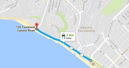 Map of PCH collision