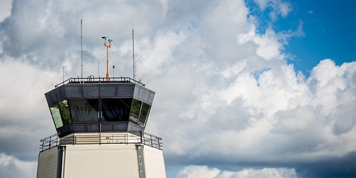 Santa Monica Airport Air Traffic Control Tower