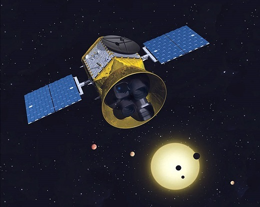 Rendering of Tess Satellite
