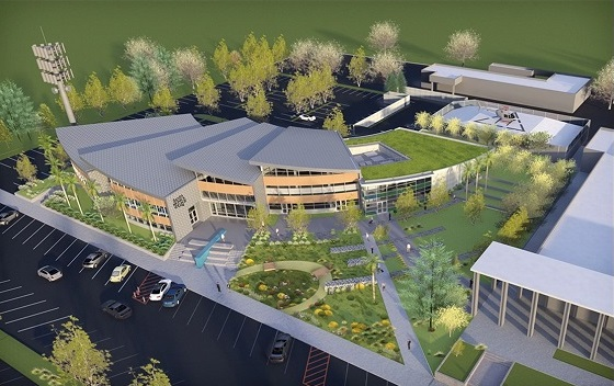 Santa Monica Collge Malibu Campus rendering