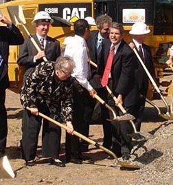 Pam O'Connor at 2011 Expo Groundbreaking