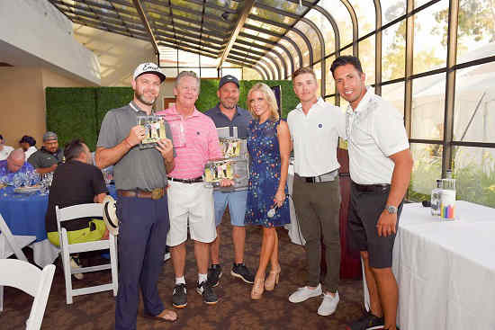 PAL Charity Golf Classic winning team